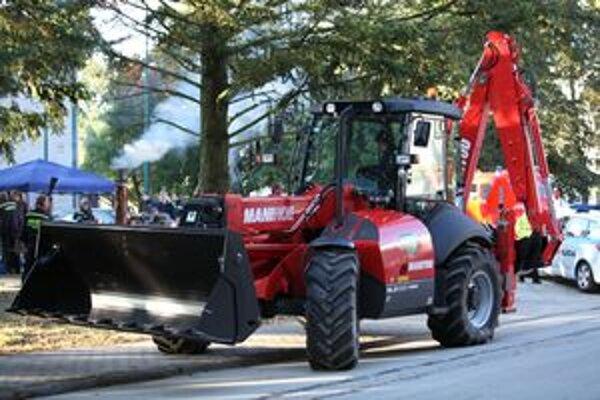 Stroj už je v Priekope. Mestský hasičský zbor ho predstavil na dňoch mestskej časti v prvú októbrovú sobotu.