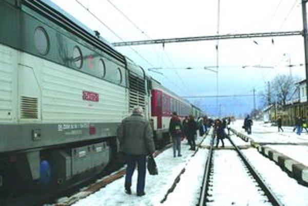 V Martine už vlak odíde aj bez výpravcu.