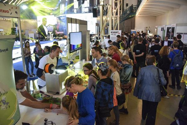 Festival vedy - Európska noc výskumníkov 2018.