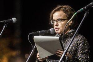 Zuzana Petková, riaditeľka nadácie Zastavme korupciu.
