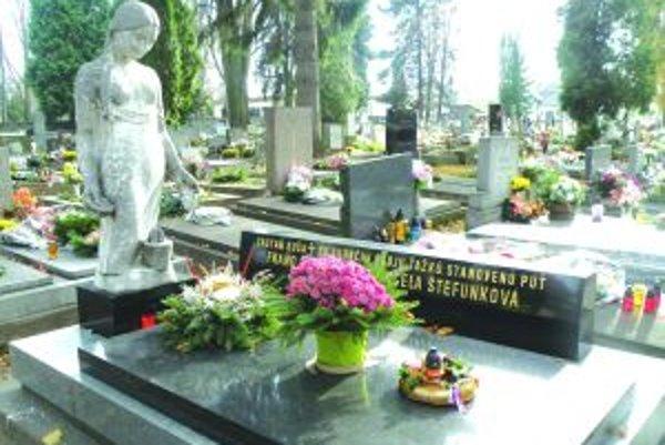Národný cintorín. Bol obsahom jednej petície. Jeho rekonštrukcia podľa návrhu Jána Gustiňáka je ale vecou peňazí.