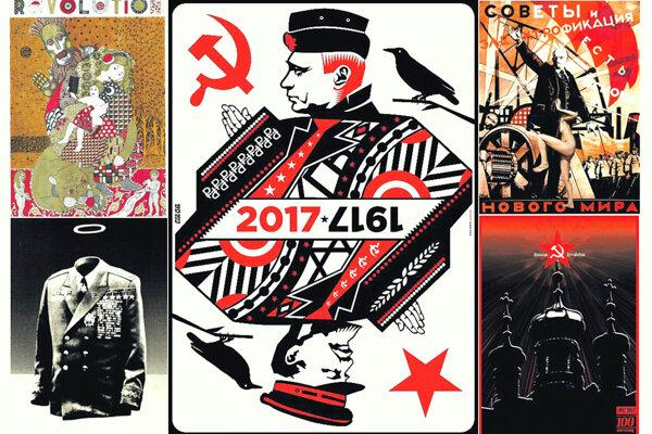 Ruská revolúcia v bardejovskej Bašte. 500 autorských plagátov. (ZDROJ: 1917-2017)