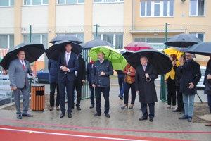 Vynovený športový areál v Prešove - otvorenie.