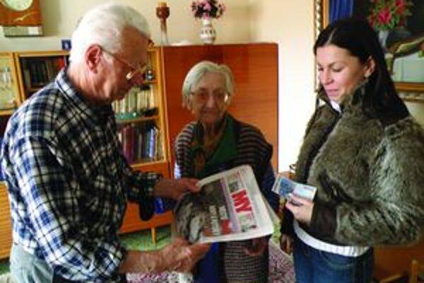 Manželovcov Martinekovcov 20 eur potešilo.