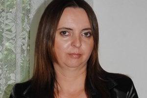 Primátorka Čiernej nad Tisou Marta Vozáriková