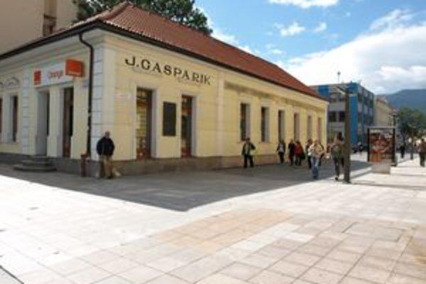 Gašparíkovský dom v Martine - jeden z pamätníkov knižnej kultúry v Martine.