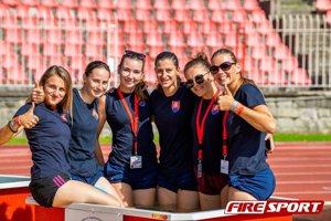 Ženská reprezentácia v hasičskom športe na MS 2018.