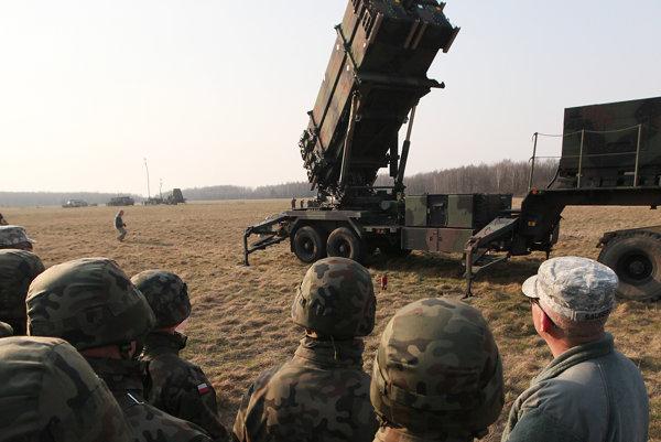 NATO v minulom roku predvádzalo arzenál v Poľsku.