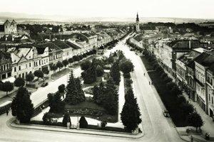 Prešov medzi svetovými vojnami.