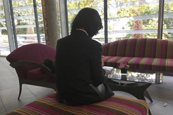 Grace Meng, manželka bývalého prezidenta Interpolu Meng Chung-Weja.