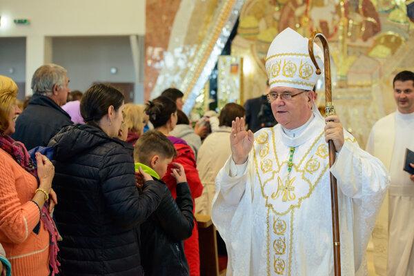 Hlavným celebrantom sv. omše  bol žilinský diecézny biskup Tomáš Galis.