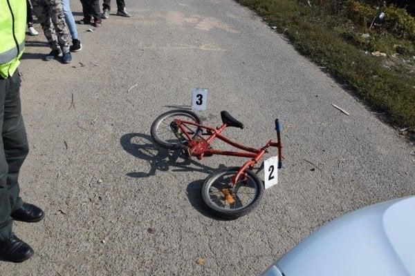 Nehoda v Petrovciach nad Laborcom.