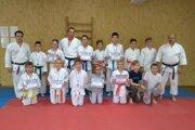 CVČ Karate šport Stará Bystrica smedailovou žatvou.