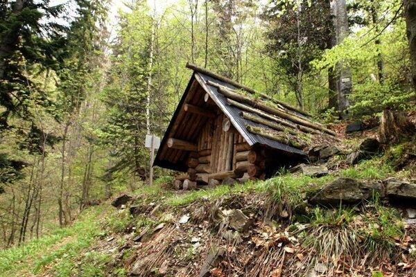 Medzi významné lesnícke miesta patrí aj obnovená partizánska základňa Matúšová pri Pohronskom Bukovci