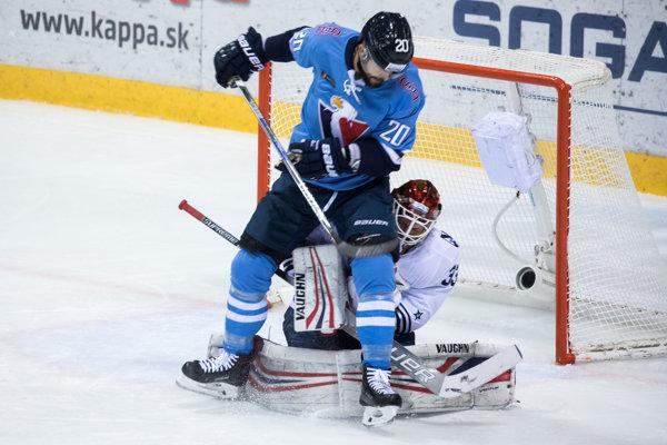 Jeff Taffe je najproduktívnejším hokejistom Slovana v KHL.