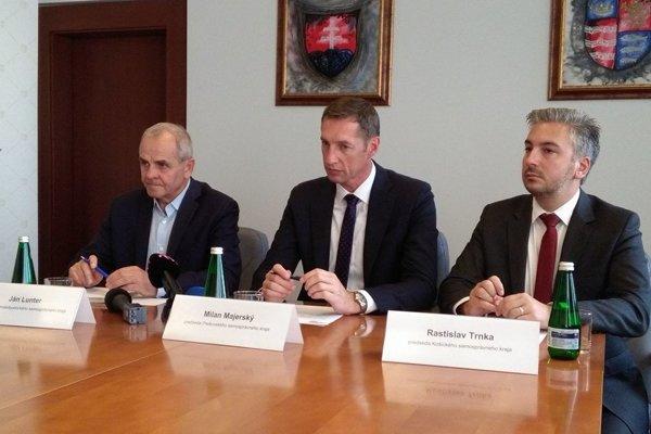Počas stretnutia v Prešove.
