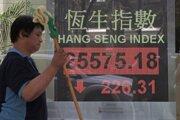 Čínskemu akciovému trhu vo štvrtok nepomohlo ani to, že americké ministerstvo financií vo svojej polročnej správe neoznačilo Čínu ako menového manipulátora.