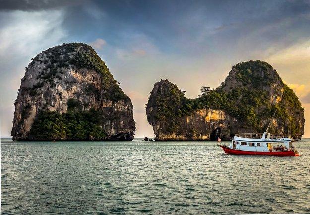 Provincia Krabi má nádherné pobrežie.