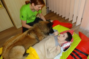 Canisterapia spočíva vliečbe dotykmi akontaktom so psíkom.