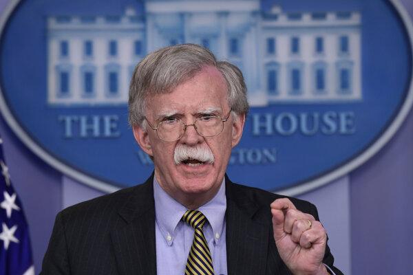 Bývaalý poradca amerického prezidenta pre národnú bezpečnosť John Bolton.