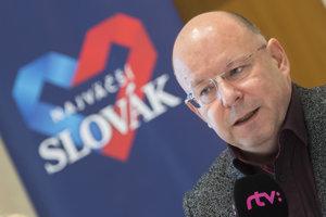 Projekt Najväčší Slovák predviedol aj riaditeľ RTVS Rezník.