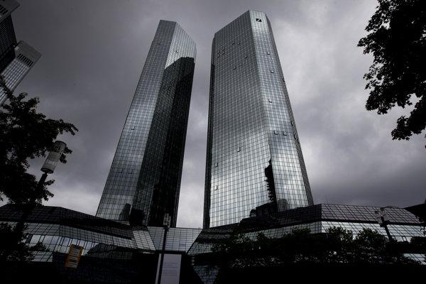 Sídlo Deutsche Bank vo Frankfurte nad Mohanom.