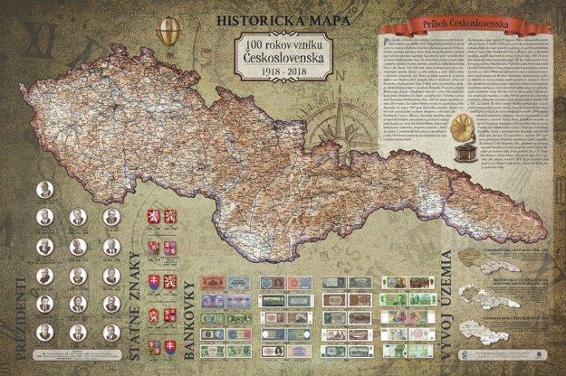 Mapa Československej republiky