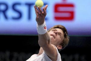 Kevin Anderson zvíťazil na turnaji ATP vo Viedni.