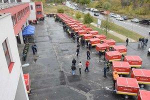 protipovodňové vozíky rozdelili obciam v Nitre.