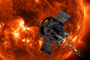 Slnečná sonda Parker prekonala dva rekordy. K Slnku sa dostala najbližšie a je aj najrýchlejšia vesmírna loď.