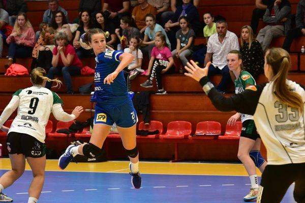 Duslo strelecky potiahla mládežnícka reprezentantka Slovenska Natália Némethová.