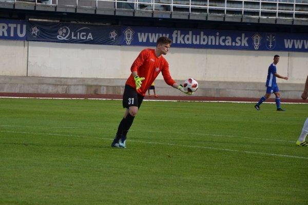 Dubnický brankár Tomáš Digaňa si opäť udržal čisté konto.