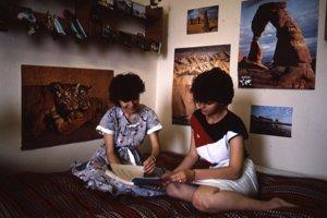 Internátna izba v študentskom domove Mladosť v roku 1988.