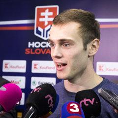 Hokejovy brankár Andrej Košarišťan zažije premiéru v reprezentačnom drese.