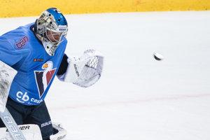 Brankár HC Slovan Bratislava Marek Čiliak.