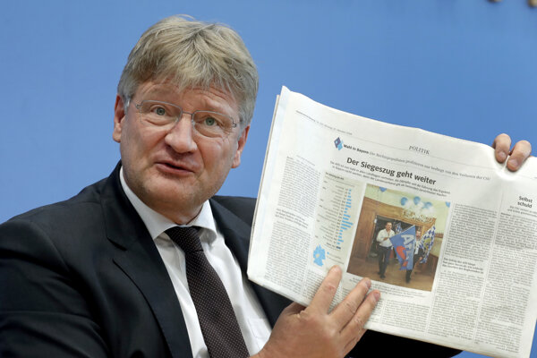 Predseda strany AfD Jörg Meuthen.