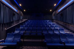 Nová kinosála je plne digitalizovaná.