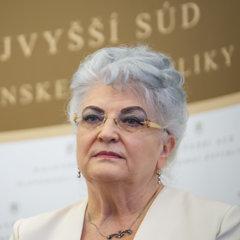 Predsedníčka Najvyššieho súdu Daniela Švecová.