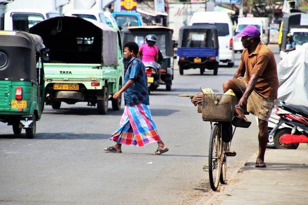 Doprava na Srí Lanke je chaotická.