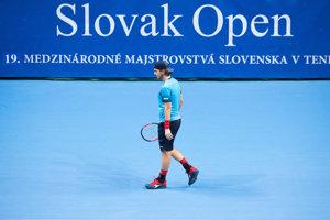 Slovenský tenista Lukáš Lacko.