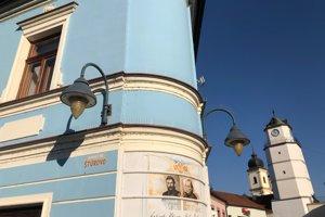 Staré lampy na  Štúrovom námestí.