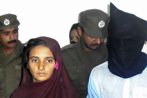 Ásija Bíbí a Šahíd Lašárí, odsúdení za otravu 17 členov rodiny