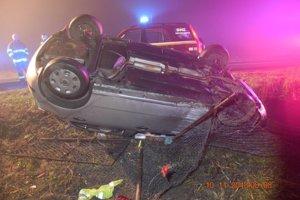 Nehoda v Somotore.