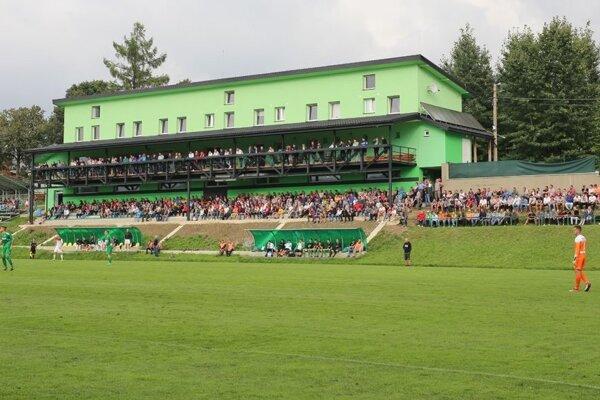 V Oravskom Veselom sú výborné futbalové podmienky.