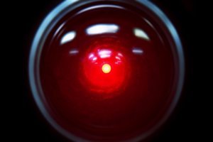 Počítač Hal 9000 vo filme Vesmírna odysea.