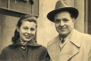 Milena Blatná s budúcim manželom