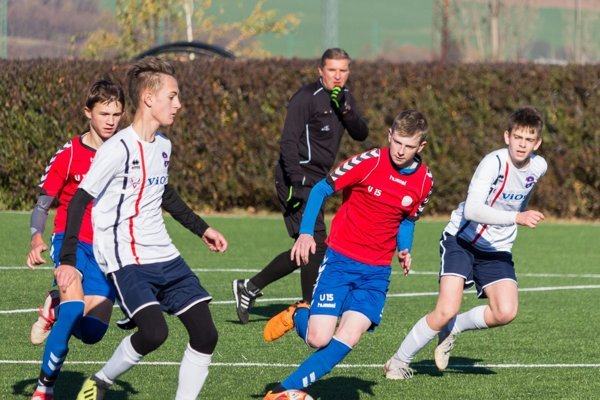 Stretnutie sa hralo na umelej tráve FC ViOn.