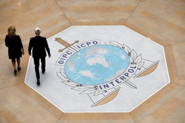 Centrála Interpolu v Lyone.