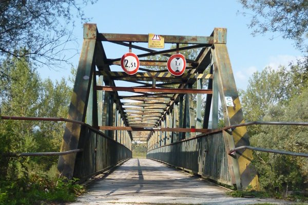 Mikšovský most je od polovice augusta uzavretý.