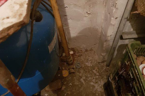 Výbuch plynu v kotolni.